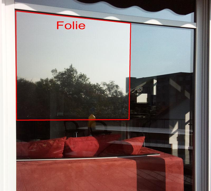 fensterfolie sonnenschutzfolie f r fenster au en. Black Bedroom Furniture Sets. Home Design Ideas