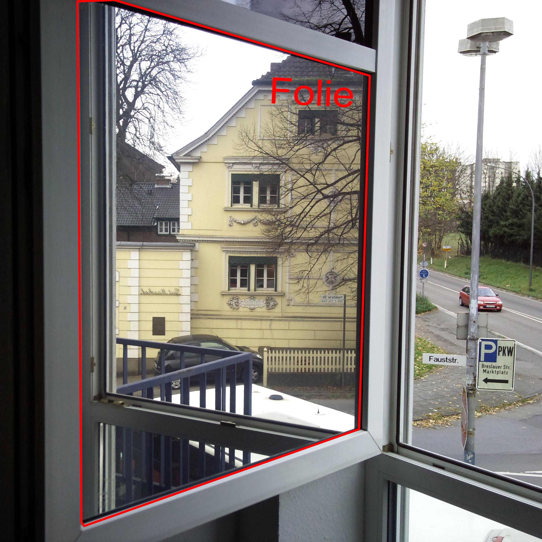 Spiegelfolien & Fensterfolien Sichtschutz Sonnenschutz Breite