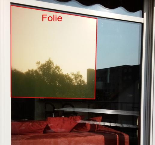 sonnenschutzfolie fensterfolie gold 80 sr innen dunkel. Black Bedroom Furniture Sets. Home Design Ideas