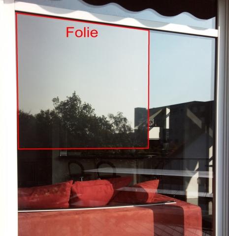 sonnenschutzfolie fensterfolie neutral 165 sr innen mittel. Black Bedroom Furniture Sets. Home Design Ideas